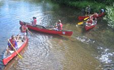 Canoes On Wheels