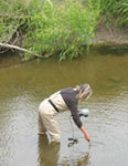 River Alliance monitoring health of a river