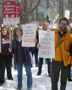 Interfaith Coalition for Worker Justice - Capital Rally