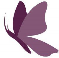 butterfly chrysalis logo