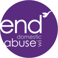 end domestic abuse WI logo