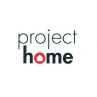 project home with a drawn home for letter 'o' in home